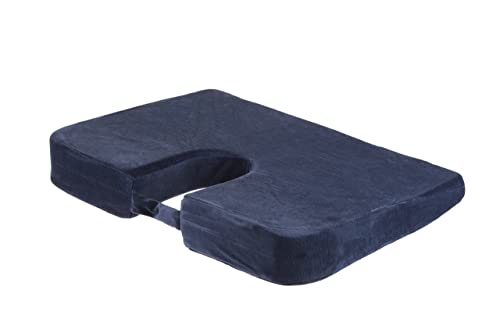 Drive DeVilbiss Healthcare Coccyx Cushion with Removable Machine Washable Cover