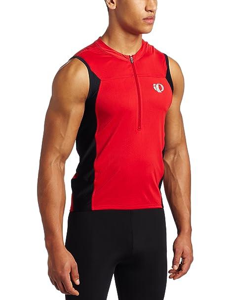 961ba984802052 Amazon.com   Pearl Izumi Men s Select Tri Sleeveless Jersey   Cycling  Jerseys   Clothing