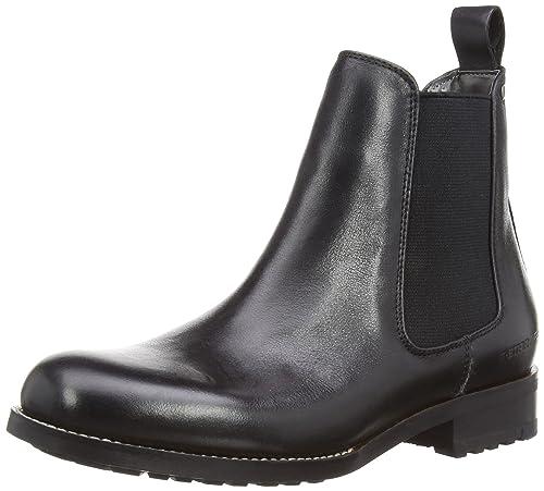 741d650ca95d6 G Star Manor Chelsea Shine, Boots femme - Noir (Black), 36 EU ...