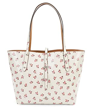 e382c53804 Coach Floral Bloom Printed Market Tote Sv/Chalk Multi