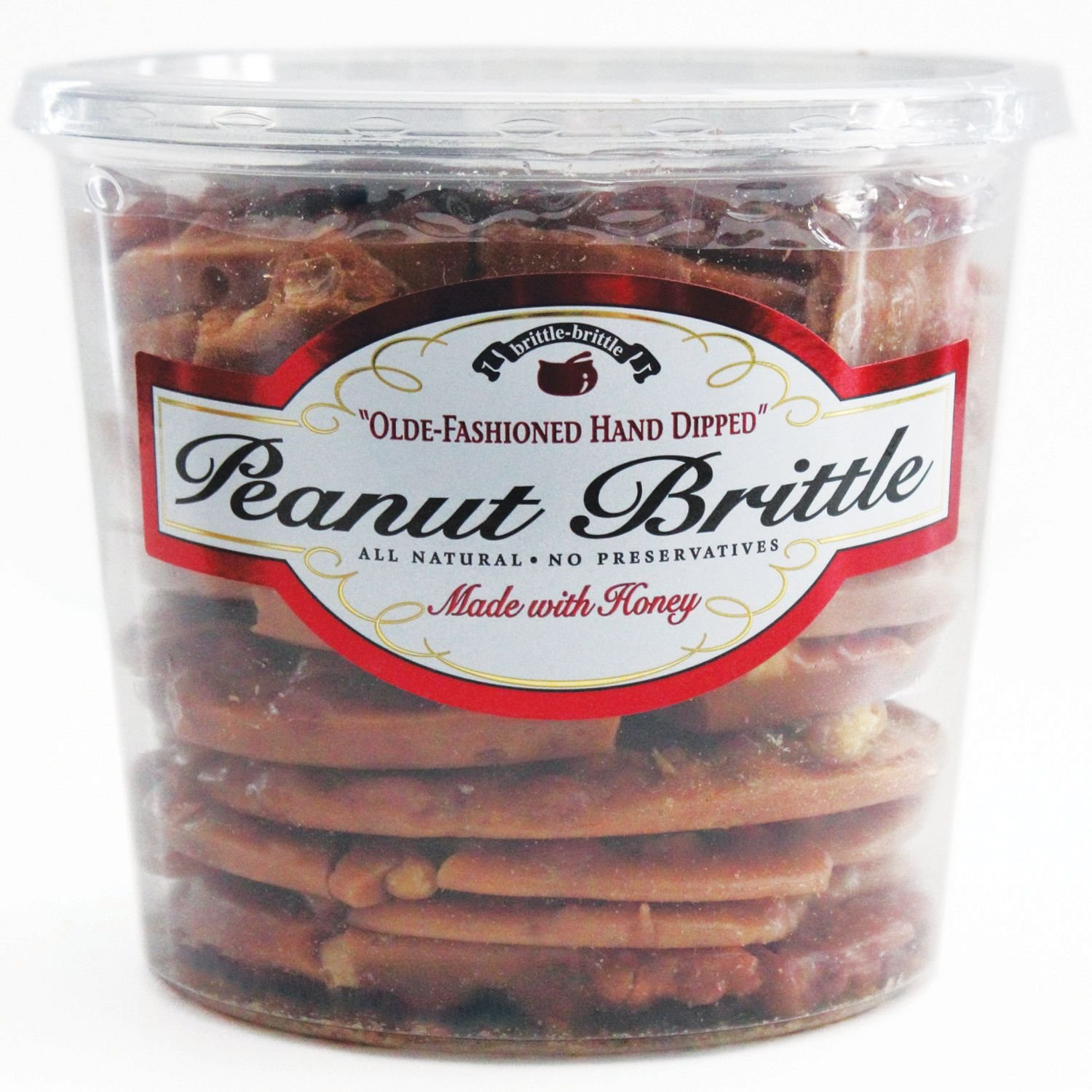 Brittle-Brittle Peanut Brittle 42 oz. (pack of 4) A1 by Store - 383