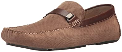 Kenneth Cole REACTION Men's Herd The Word Slip-On Loafer, Taupe, ...
