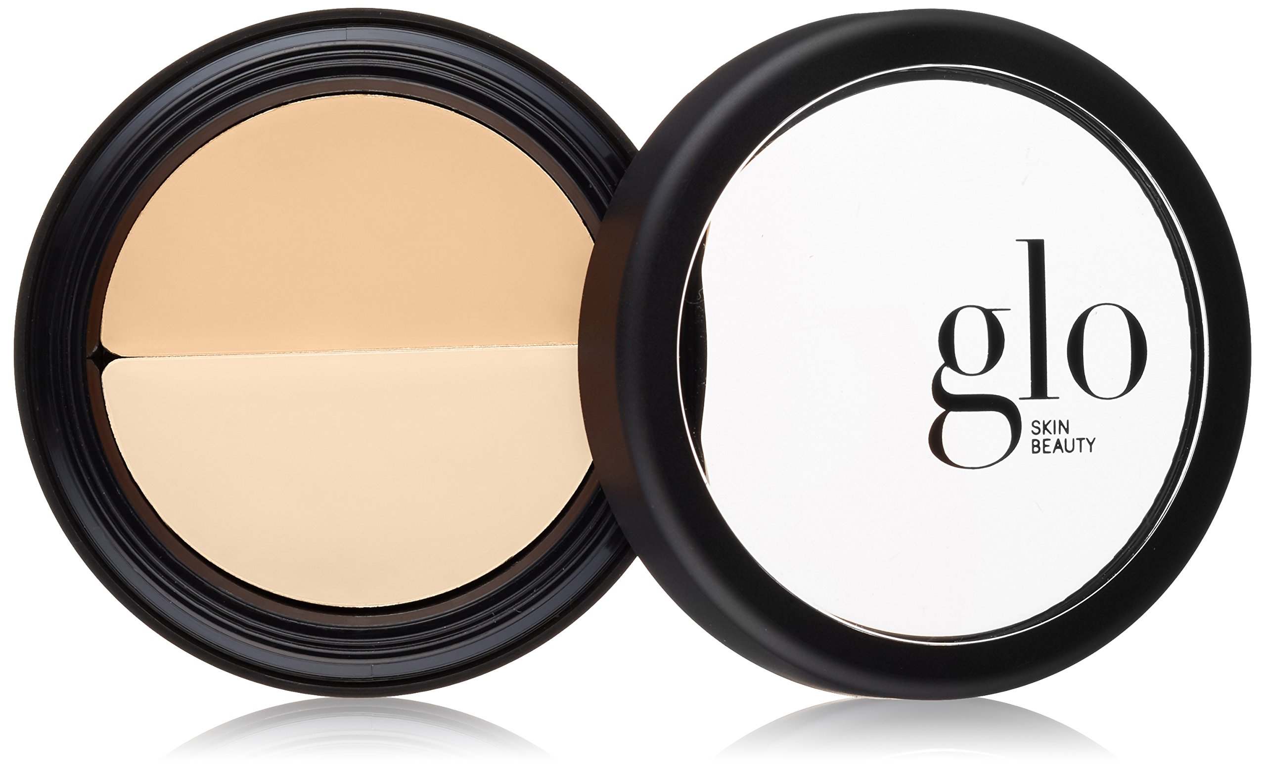 Glo Skin Beauty Under Eye Concealer Duo in Golden | Correct and Conceal Dark Circles, Wrinkles, and Redness | 4 Shades by Glo Skin Beauty