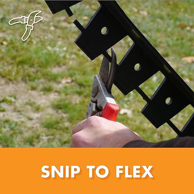 Pack of 2 Dimex 1262-60C 751315012621 EasyFlex Plastic Commercial Grade Snip to Flex Paver Landscape o 60-Feet