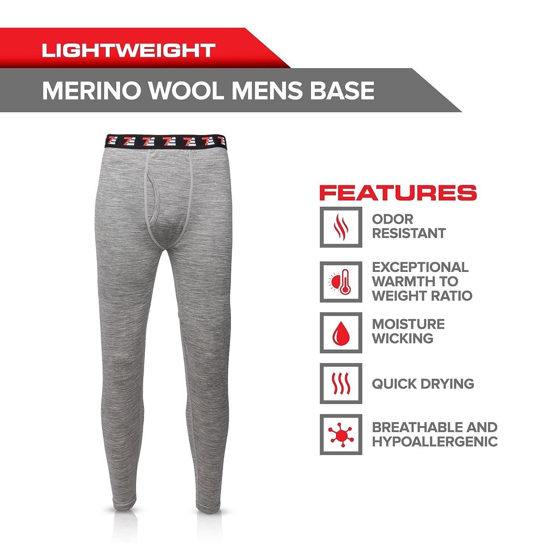7EVEN 100/% Merino Wool Mens Base Layer Bottom 190 GSM