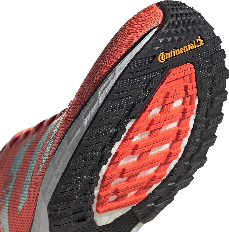 Adidas Adizero Adios 5 W, Chaussures De Running Compétition Femme Signal Corail Argent Met Core Noir