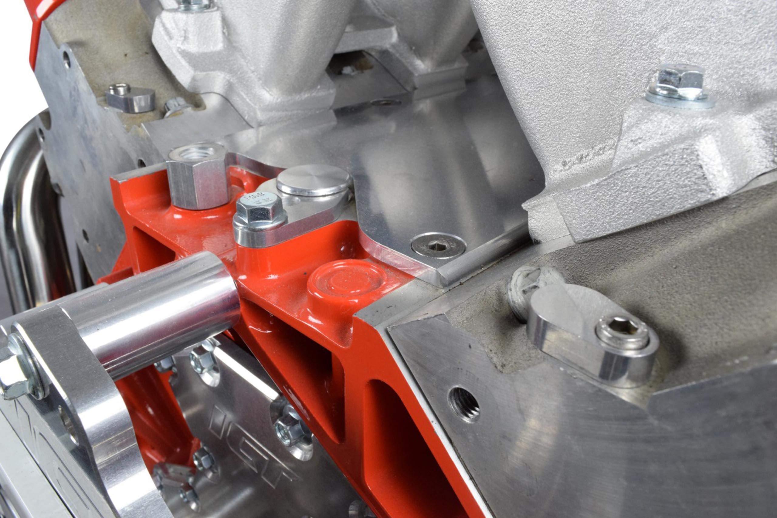 For LS Engine 3-Bolt DBC DBW Gen 3 Throttle Body Bypass Steel Braided Hose Kit Coolant Crossover Steam Tube Compatible with LSX LS1 LM7 LR4 LQ4 LS6 L59 LQ9 LM4 L33 551694H