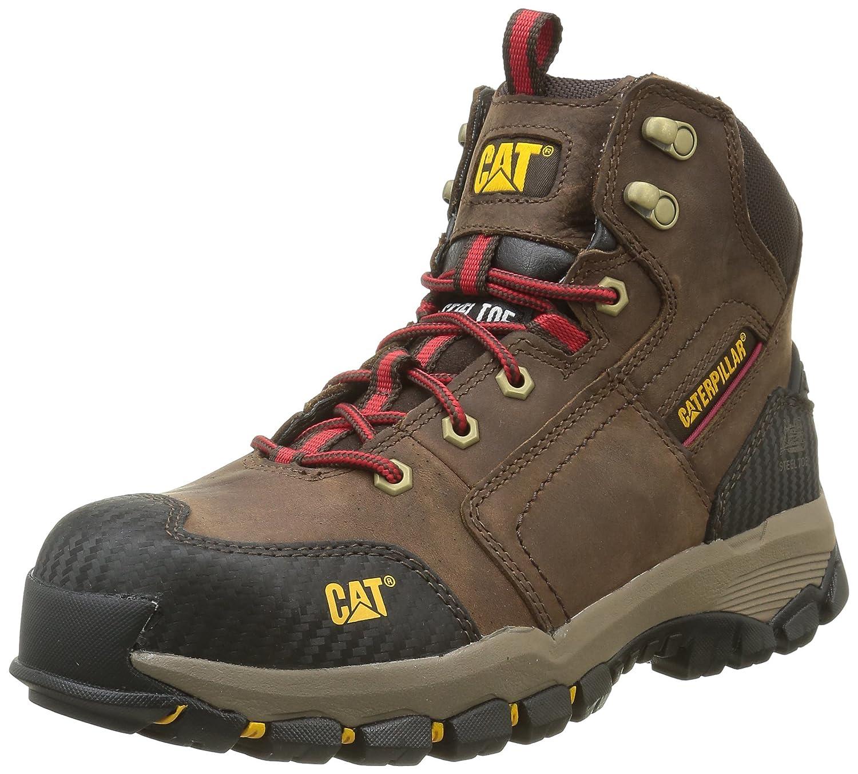 Caterpillar Navigator Mid St S3 HRO Sra - Zapatos de Seguridad (Tobillo Alto), Color Marrón, Talla 46: Amazon.es: Zapatos y complementos