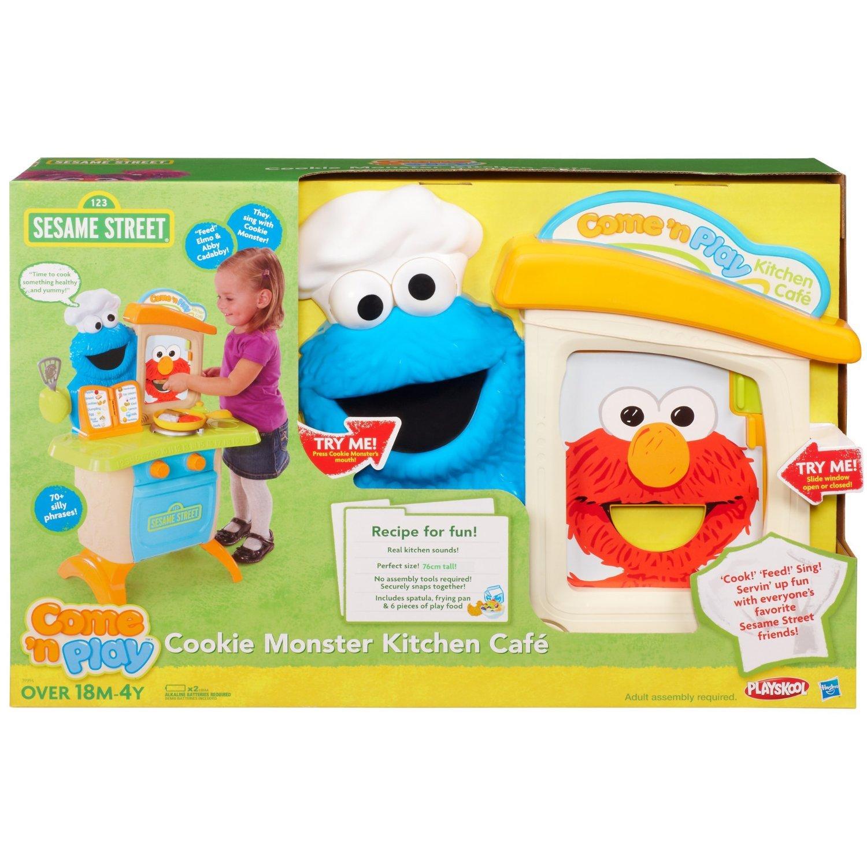 Amazon Sesame Street Playskool e N Play Cookie Monster
