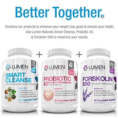 Amazon Com Smart Cleanse 15 Day Gentle Detox Colon Cleanse
