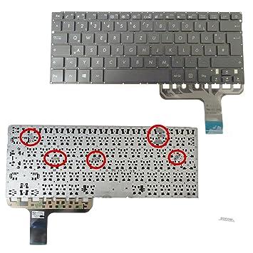 De Teclado para Asus Zenbook UX305 ux305ca ux305fa UX30 5ua ux305u Keyboard: Amazon.es: Electrónica