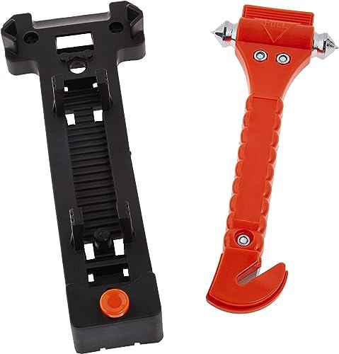 AmazonBasics Emergency SeatBelt Cutter and Window Hammer Tool
