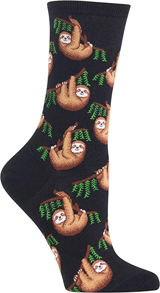 Hot Sox Women/'s Sloth Socks