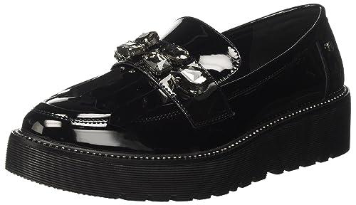 Tata Italia 17W30-4, Mocasines para Mujer, Negro, 38 EU: Amazon.es: Zapatos y complementos