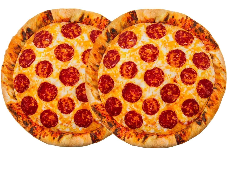 Cojín de pizza de Salami Bada Bing: Amazon.es: Hogar