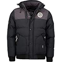 Geographical Norway Volva Men - Chaqueta Capucha Hombres Impermeable - Grueso Abrigo Jacket Cazadora Abrigo Piel…
