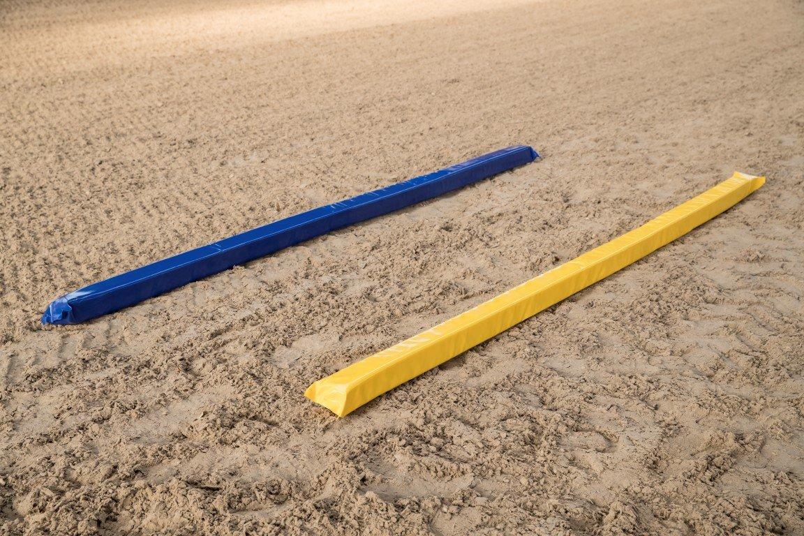 Barre de travail au sol souple 9,5 x 9,5 x 300 cm env