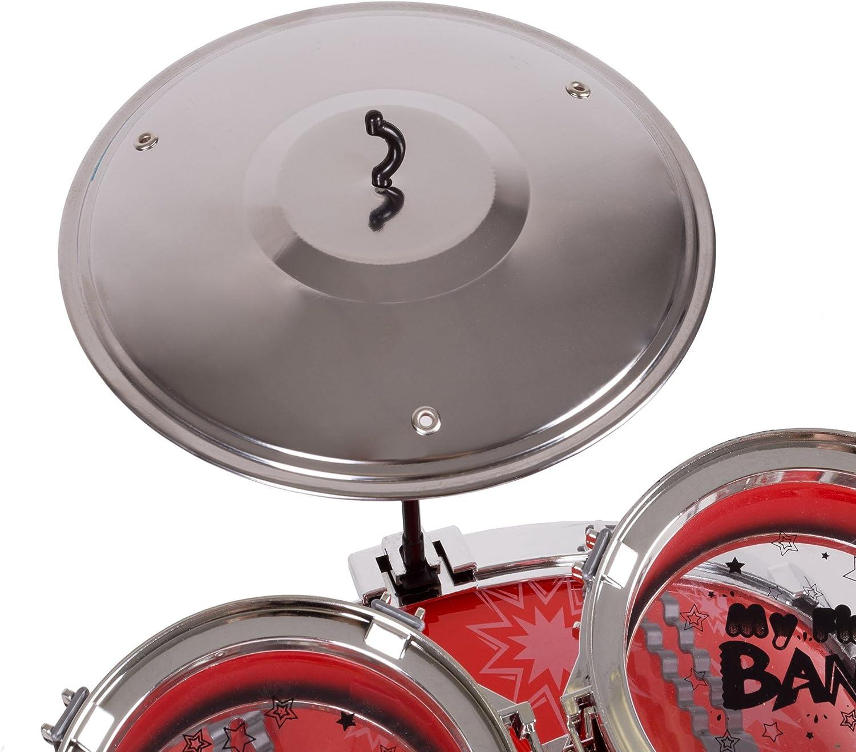 Drumming On The Brain Kids Boys Funny Drum Hoodie Drums Drummer Kit Sticks Girls