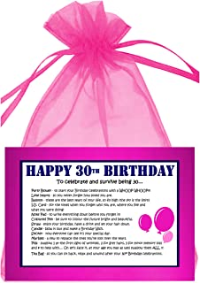 30TH BIRTHDAY SURVIVAL KIT PINK
