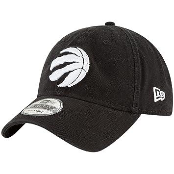 3cd110115c6 Men's Toronto Raptors NBA Core Classic White On Black 9TWENTY Cap, Baseball  Caps - Amazon Canada