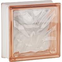 5 piezas FUCHS bloques de vidrio nube rosa