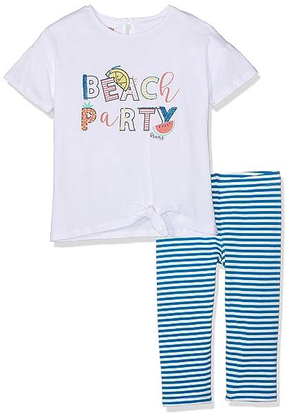 3e5b76178e Brums - Completo 2 Pezzi: T-Shirt Jersey+Pescatore, Completino Bambina:  Amazon.it: Abbigliamento