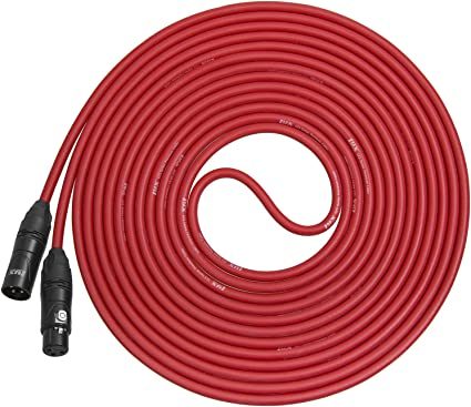 4 Ft Silver Plated TA3F Mini Tiny XLR Female to Female  Audio Balanced Cable.