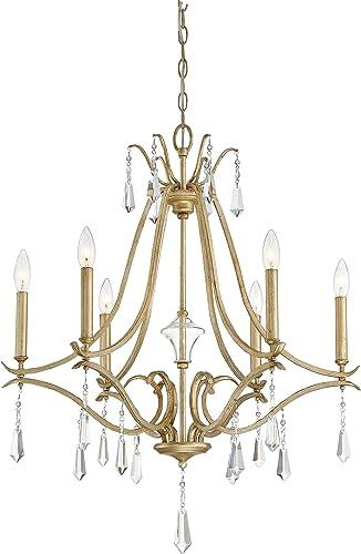 Minka Lavery 4446-582 Laurel Estate Crystal Chandelier Lighting