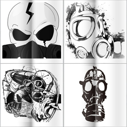 amazon com graffiti gas mask drawing appstore for android
