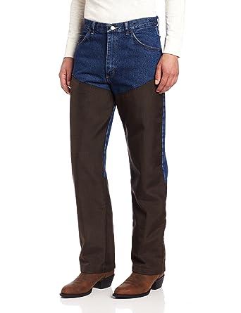 e7b674caa27ff Wrangler Men's Progear Upland Jean, Antique Navy, 42x30 at Amazon Men's  Clothing store: