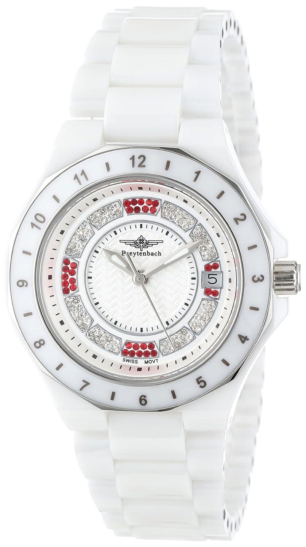 Breytenbach Damen-Armbanduhr Ceramic Analog Quarz Keramik BB9950W