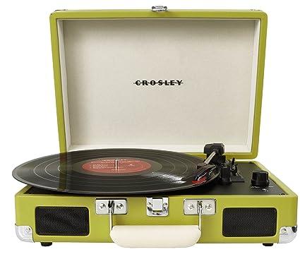 Crosley CR8005A - Tocadiscos (Tocadiscos de tracción por Correa ...