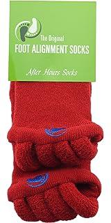 The Original Foot Alignment Socks Original Foot Alignment Socks Red Happy Feet