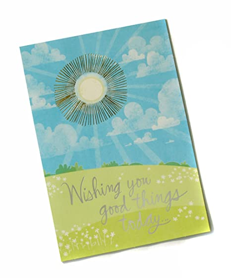 Amazon Hallmark Extra Large Greeting Card Wishing You Good