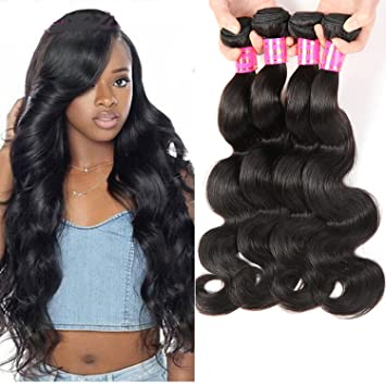 Amazon bestsojoy 4 bundles brazilian virgin hair body wave bestsojoy 4 bundles brazilian virgin hair body wave 8a cheap brazilian hair weave bundles brazilian body pmusecretfo Image collections