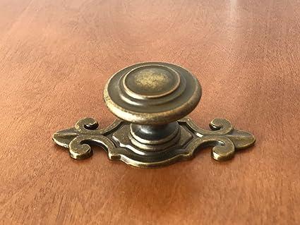 Sonoma Cabinet Kitchen Hardware Nantucket Knob Antique Brass With