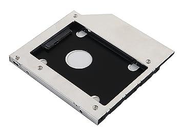 DeYoung SATA 2 nd HDD HD SSD disco duro Caddy funda para portátil ...