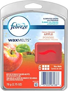 Febreze Wax Melts Fresh Pressed Apple Air Freshener (1 Count, 2.75 Oz), 0.172 Pound