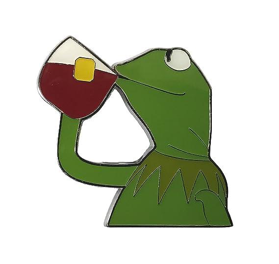 Amazoncom Balanced Co Kermit None Of My Business Meme Pin Kermit
