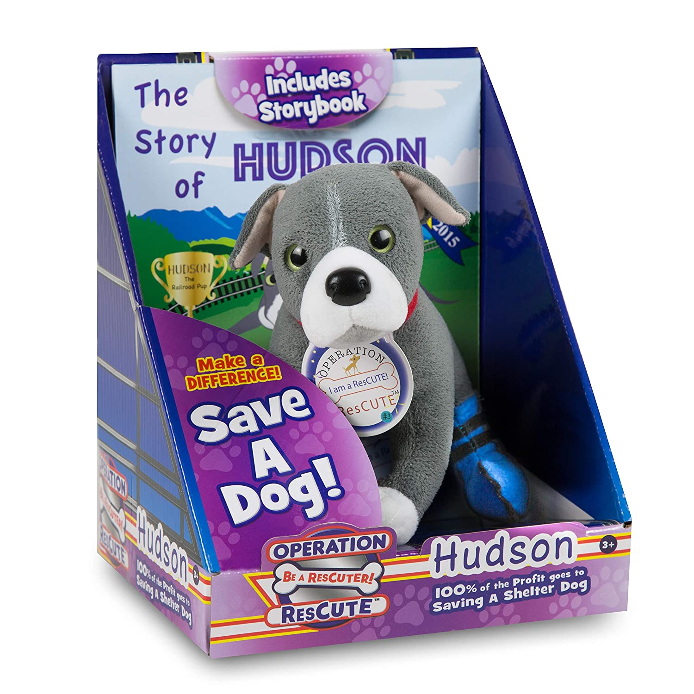 Amazon Com Operation Rescute The Story Of Hudson Book Stuffed