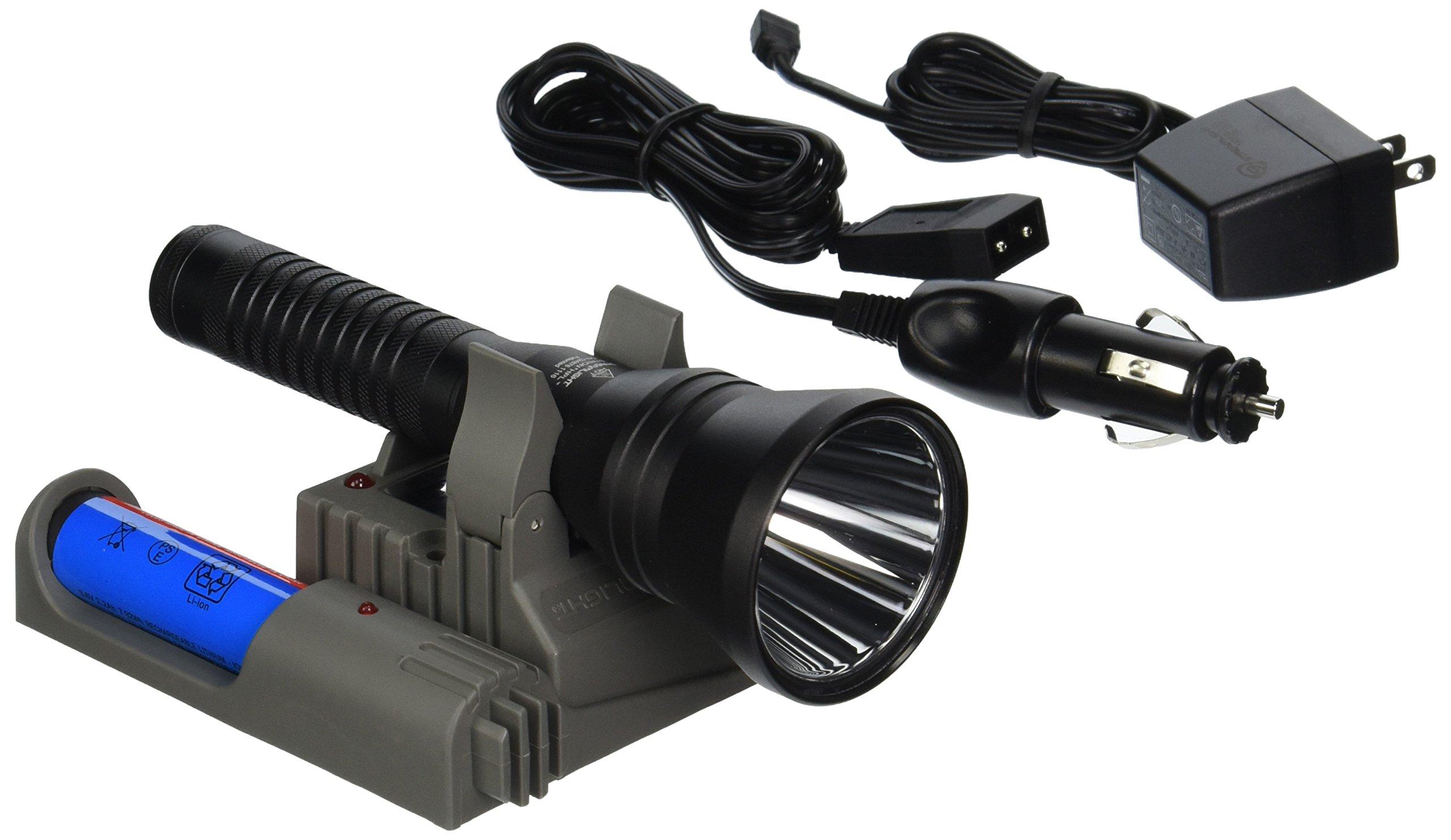Streamlight 74536 Strion HPL Flashlight with 120V AC/12V DC Piggyback Charger