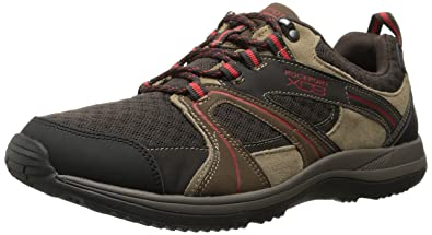 Rockport Mens XCS Urban Gear Web Mudguard Walking Shoe VicunaBrown7 M