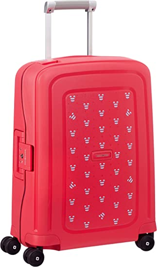 SAMSONITE SCure Hand Luggage Mickey Summer Red 55 cm Red 34 liters