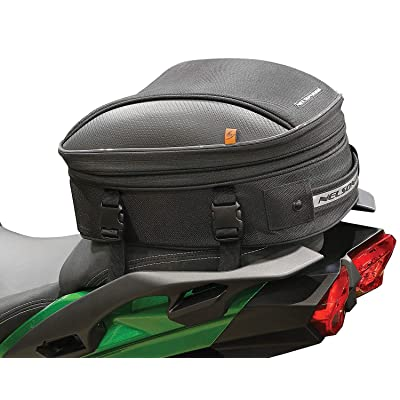 Nelson Rigg CL-1060-S2 Black Commuter Sport Motorcycle Tail/Seat Bag: Automotive