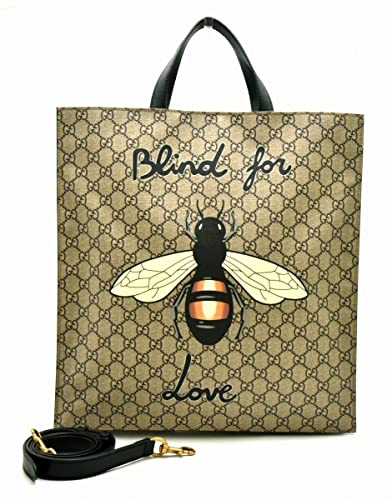 cheap for discount dd3a6 46a03 Amazon | [グッチ] GUCCI ビー 蜂 GGスプリーム トートバッグ ...
