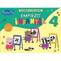 Peppa Pig. Cuaderno de vacaciones: Empiezo Infantil 4 años