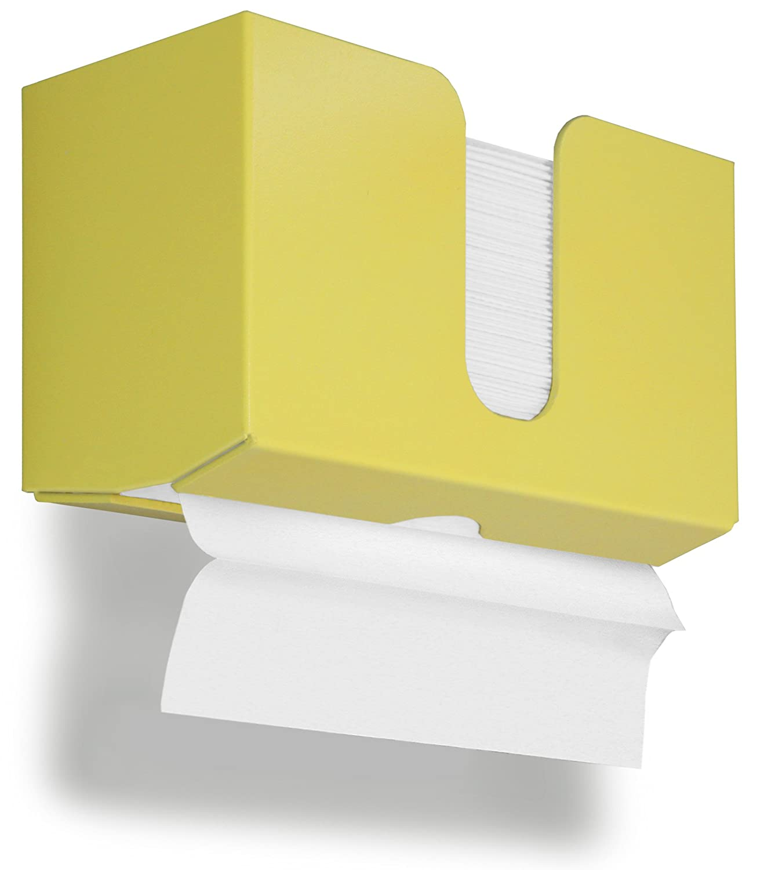 10 7//8 Width x 6 1//2 Height x 4 1//4 Depth TrippNT 51919 PETG Dual-Dispensing Paper Towel Holder Gumdrop Purple