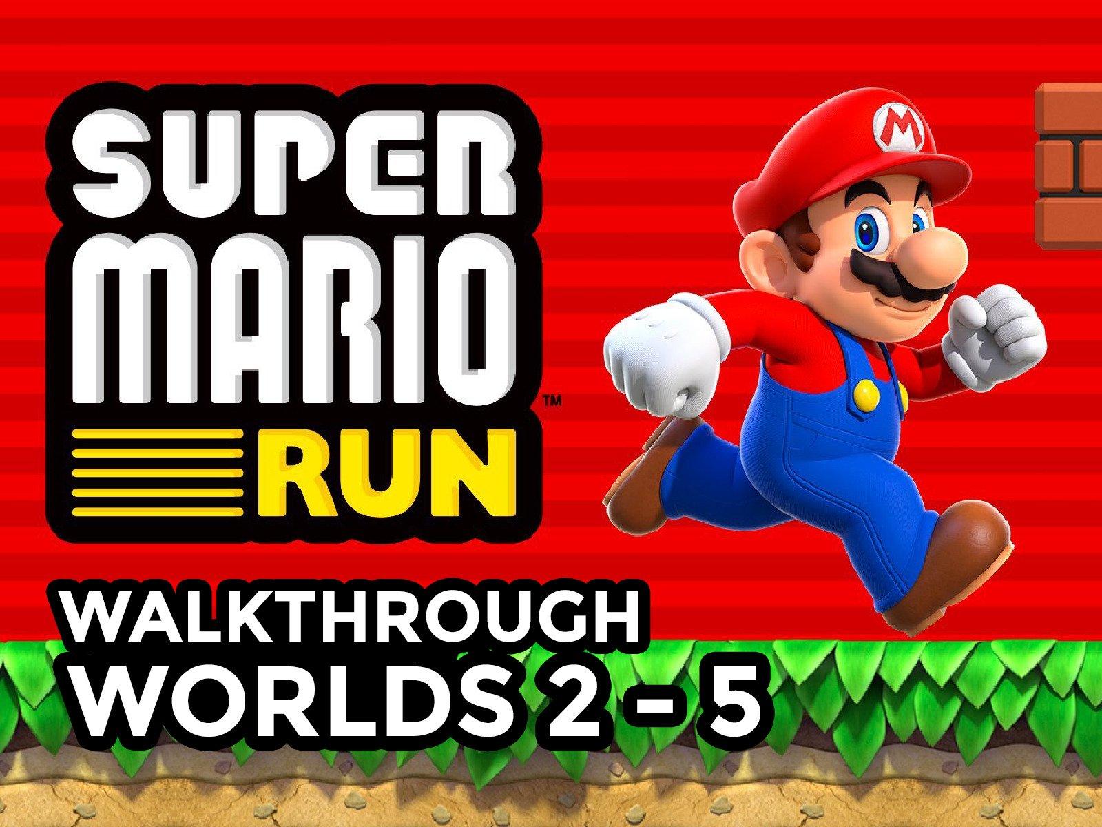 Amazon Com Watch Clip Super Mario Run Walkthrough Prime Video