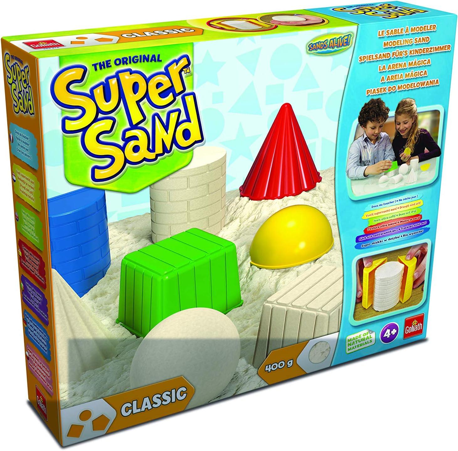 Super Sand Classic Arena Mágica, Color Natural, 32.3 x 26.9 x 6.3 (Goliath 83216)