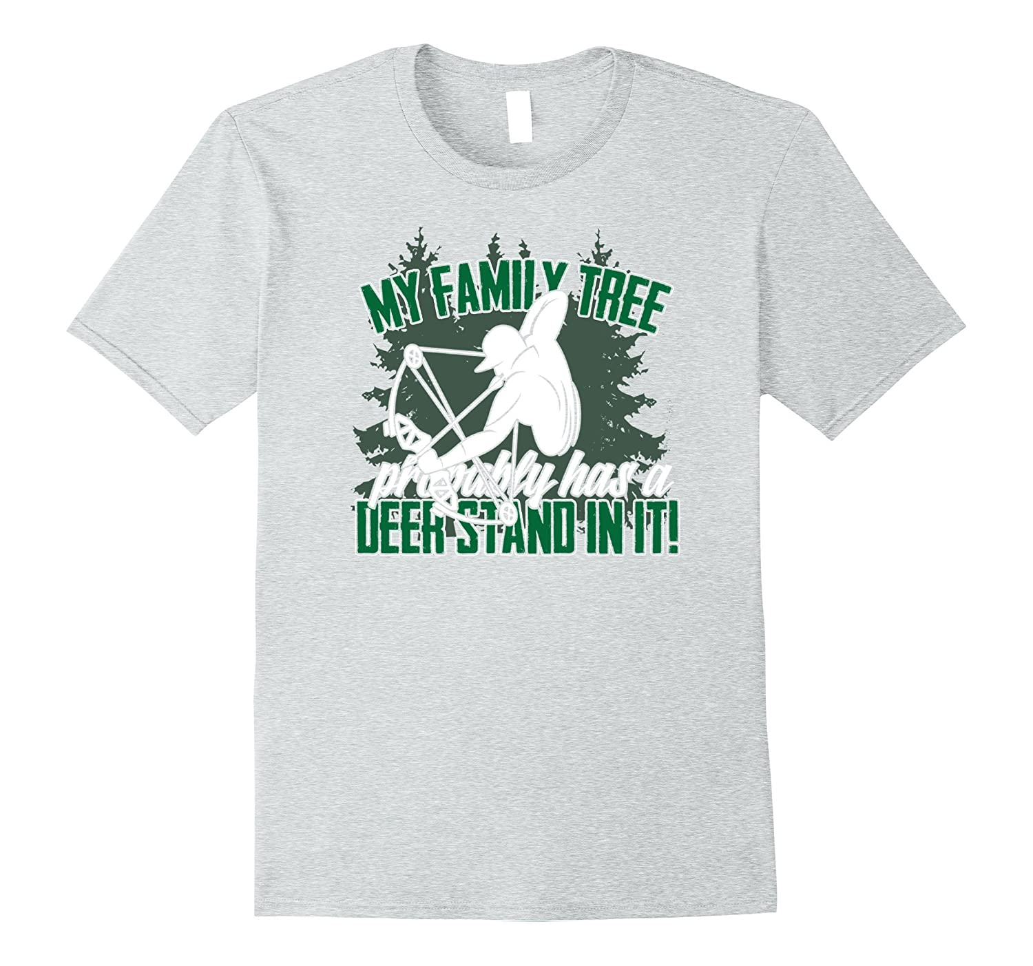 b6d3d62a6e Funny Bow Hunting Treestand Tshirt for Deer Hunters-CL – Colamaga